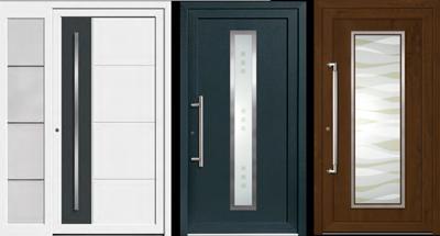 Haustüren modern weiß  HAUSTÜREN